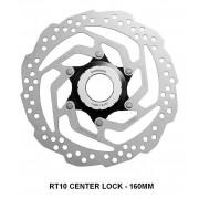 DISCO ROTOR DE FREIO SHIMANO 160MM SM-RT10-S CENTER LOCK