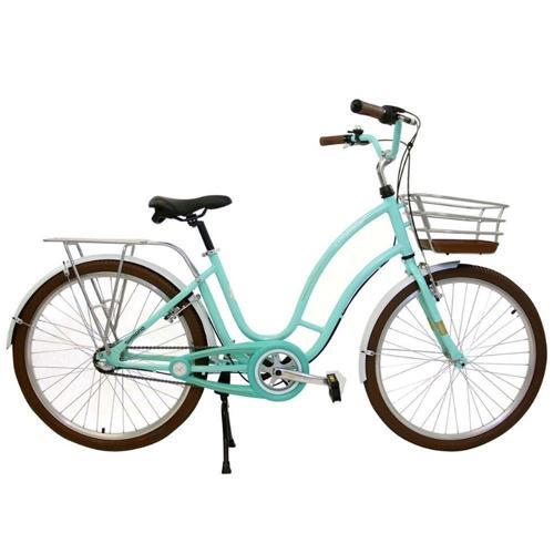 Bicicleta Nathor Antonella 26 Verde Aqua R26