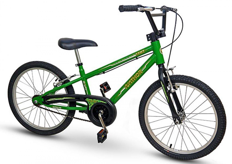 Bicicleta Nathor Aro 20 Army Verde