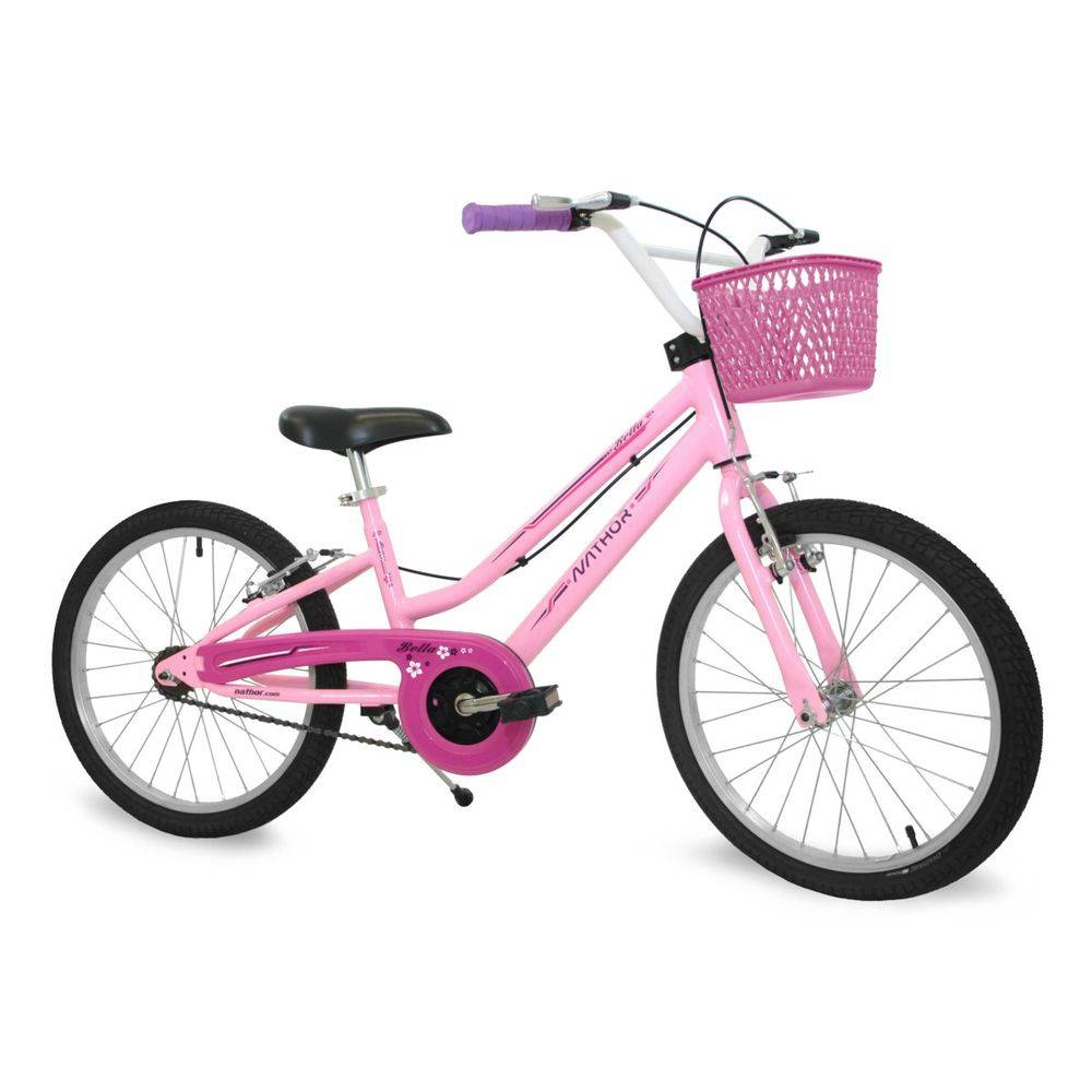Bicicleta Nathor Aro 20 Bella ll Rosa / Rosa