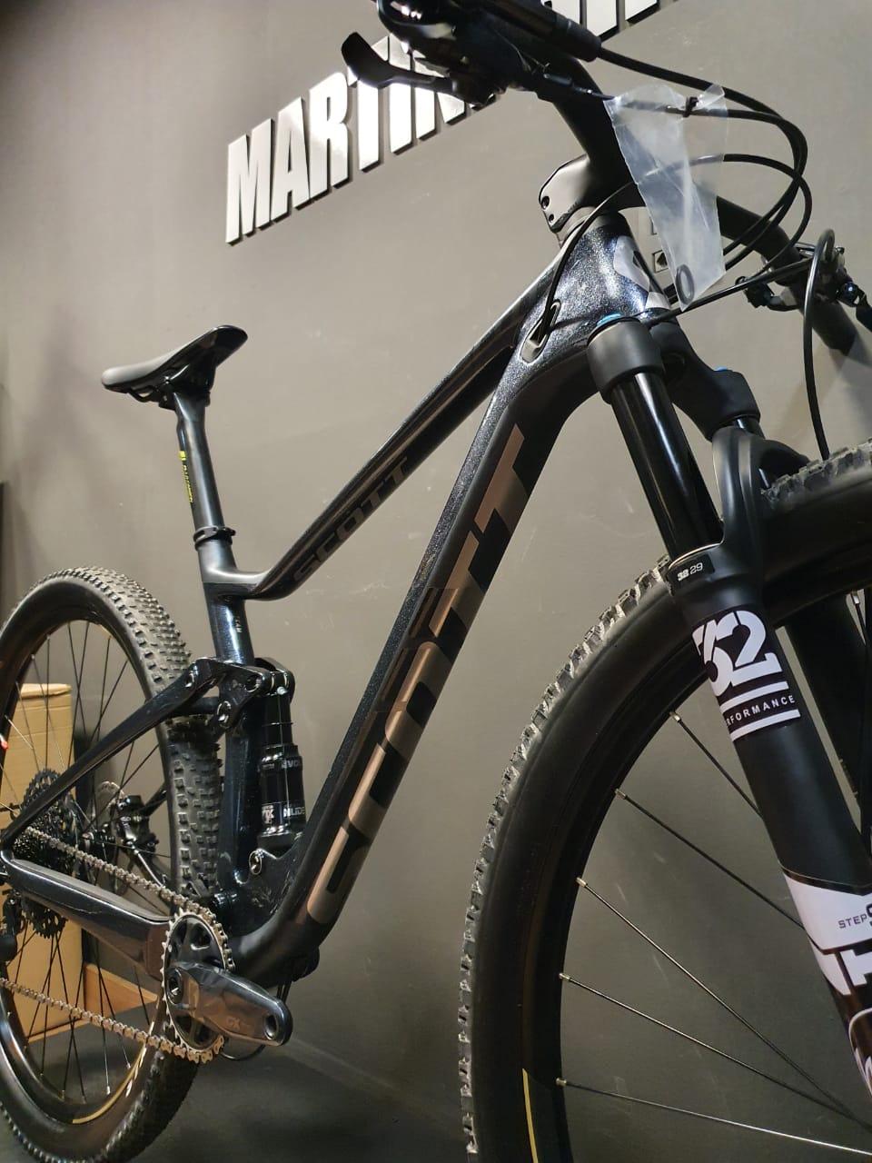 Bicicleta Scott Spark Rc 900 Team Tam M A21 Seminova Cinza