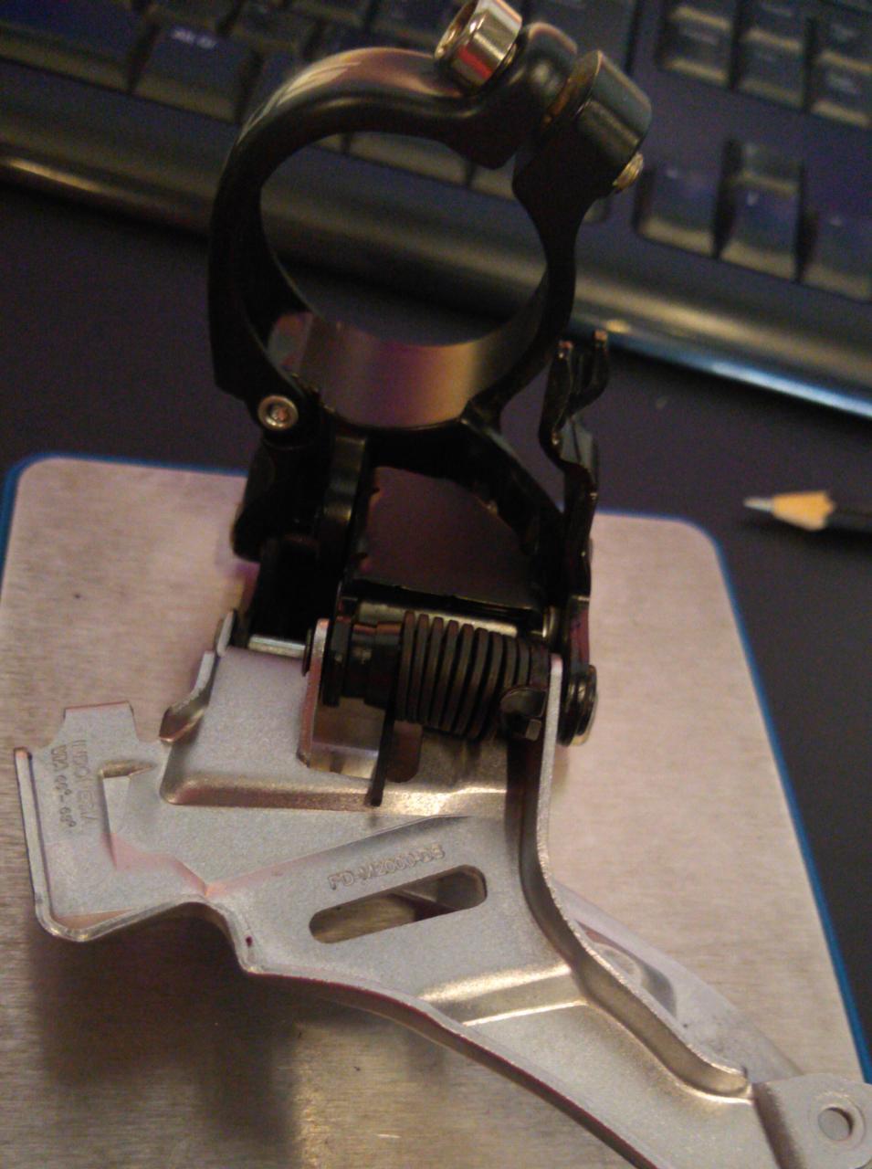 CMBIO DIANTEIRO SHIMANO ALTUS FD-M2000 (USADO)