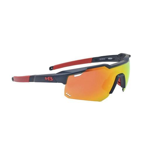 Óculos hb shield evo r matte navy multi red
