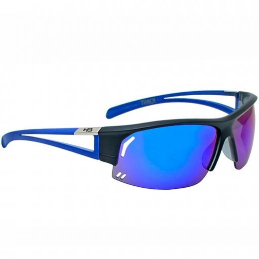 ÓCULOS HB TRACK BLACK/M BLUE CHROME