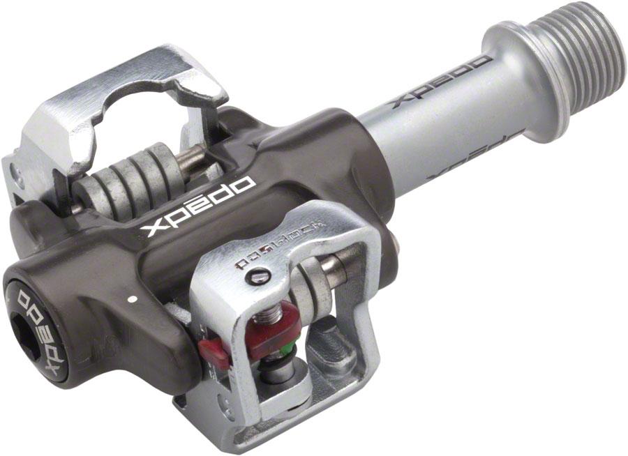 Pedal xpedo m-force 4 mf-4 roletado alumínio preto