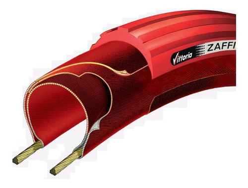 Pneu Vittoria Zaffiro Pro Home Trainer 700x23c Vermelho
