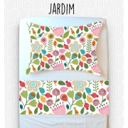 Jogo Mini Cama / Júnior - Jardim