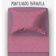 Jogo Mini Cama / Júnior - Pontilhado Berinjela
