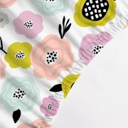 Lençol Avulso BERÇO - Flores