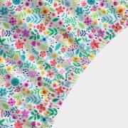 Lençol Avulso MINI CAMA / JÚNIOR - Floral