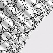 Lençol Avulso SOLTEIRO - Animais