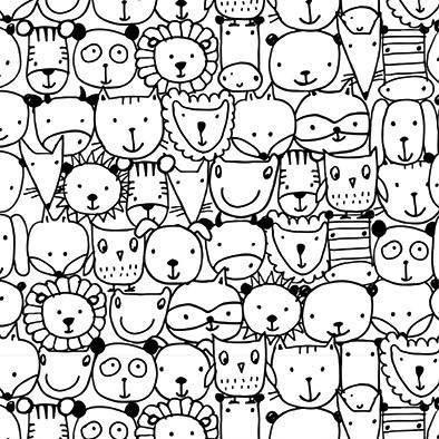 Almofada - Animais