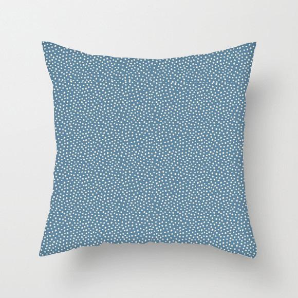 Almofada {Pontilhado Azul Pacífico}