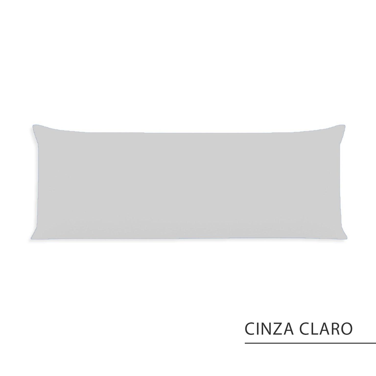 Fronha Avulsa {Cinza Claro}