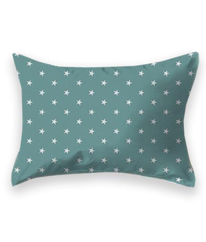 Fronha {Estrelas Verde Petróleo}