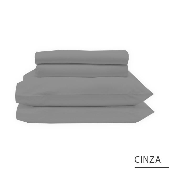 Jogo MINI CAMA / JÚNIOR - Cinza