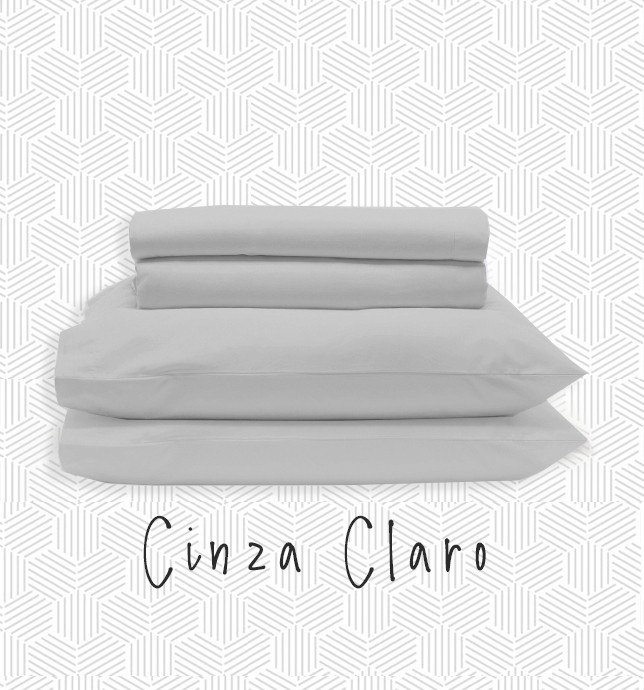 Jogo MINI CAMA / JÚNIOR - Cinza Claro