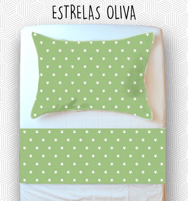 Jogo Mini Cama / Júnior - Estrelas Oliva