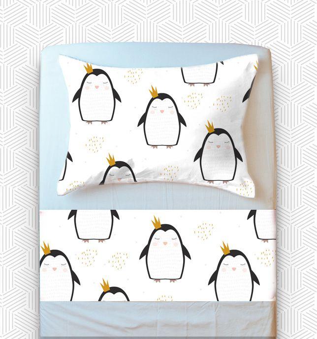 Jogo Mini Cama / Júnior - Pinguim