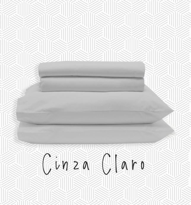Jogo QUEEN - Cinza Claro