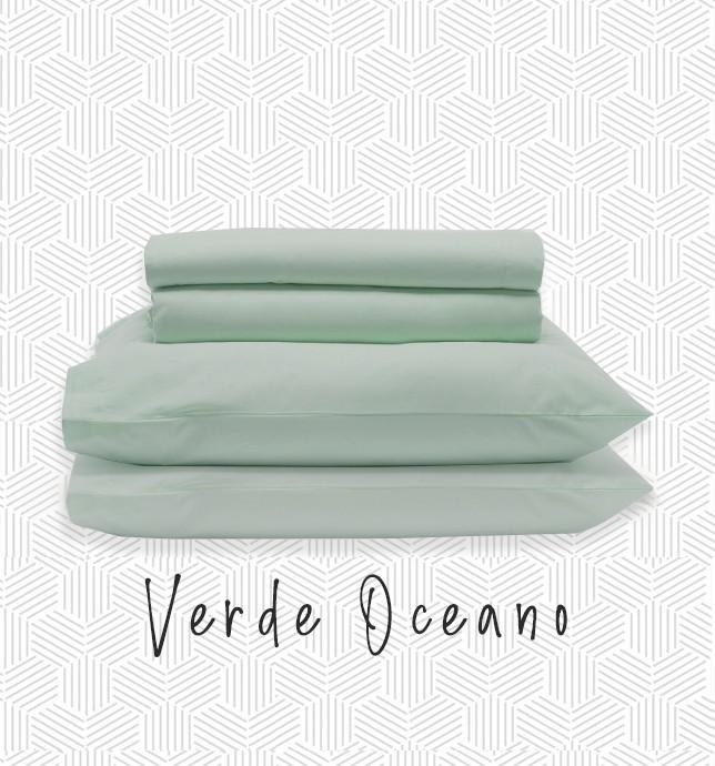 Jogo QUEEN - Verde Oceano