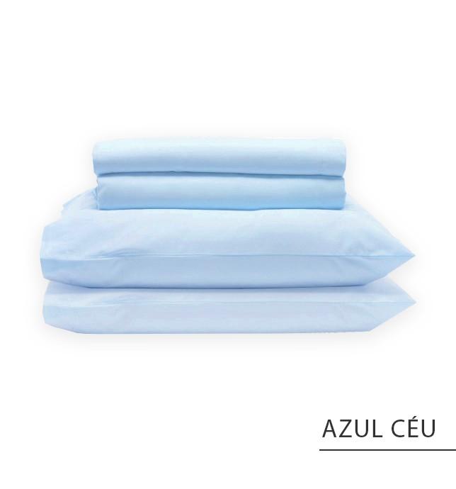 Jogo SOLTEIRO - Azul Céu