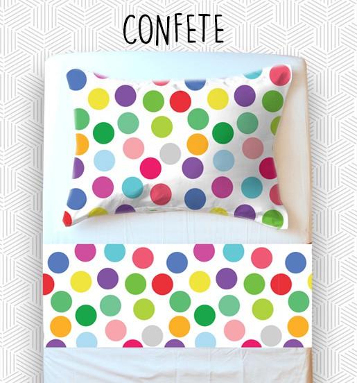 Jogo Solteiro - Confete
