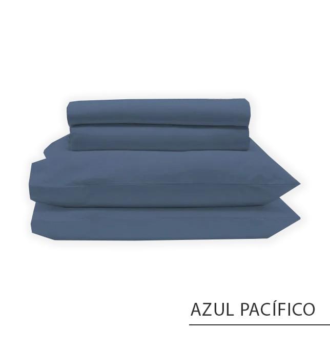 Jogo SOLTEIRO KING / VIÚVA - Azul Pacífico