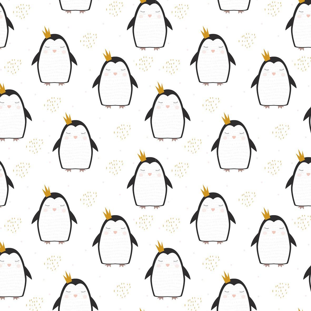 Lençol Avulso MINI CAMA / JÚNIOR - Pinguim