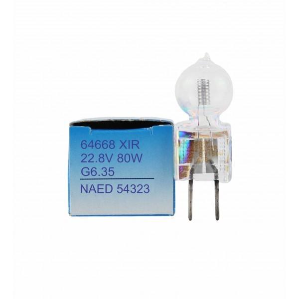 LAMPADA BI PINO OSRAM 64668 XIR - IRC 3250ºK 22,8V 80W