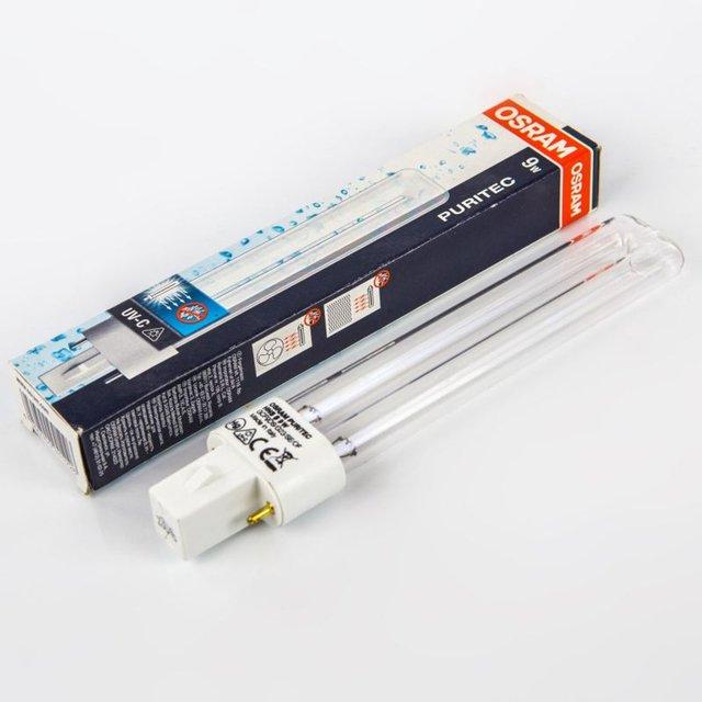 LAMPADA OSRAM UV-C GERMICIDAL PURITEC HNS 9W G23