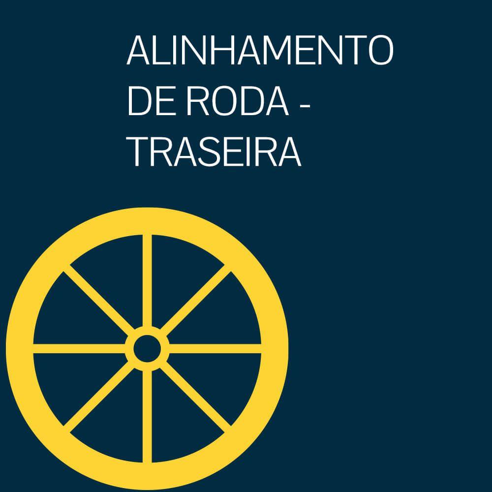 ALINHAMENTO DE RODA - TRASEIRA