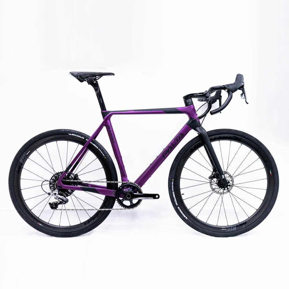 BICICLETA BASSO PALTA RIVAL 2020 GRAPE - RODAS CARBON MR38