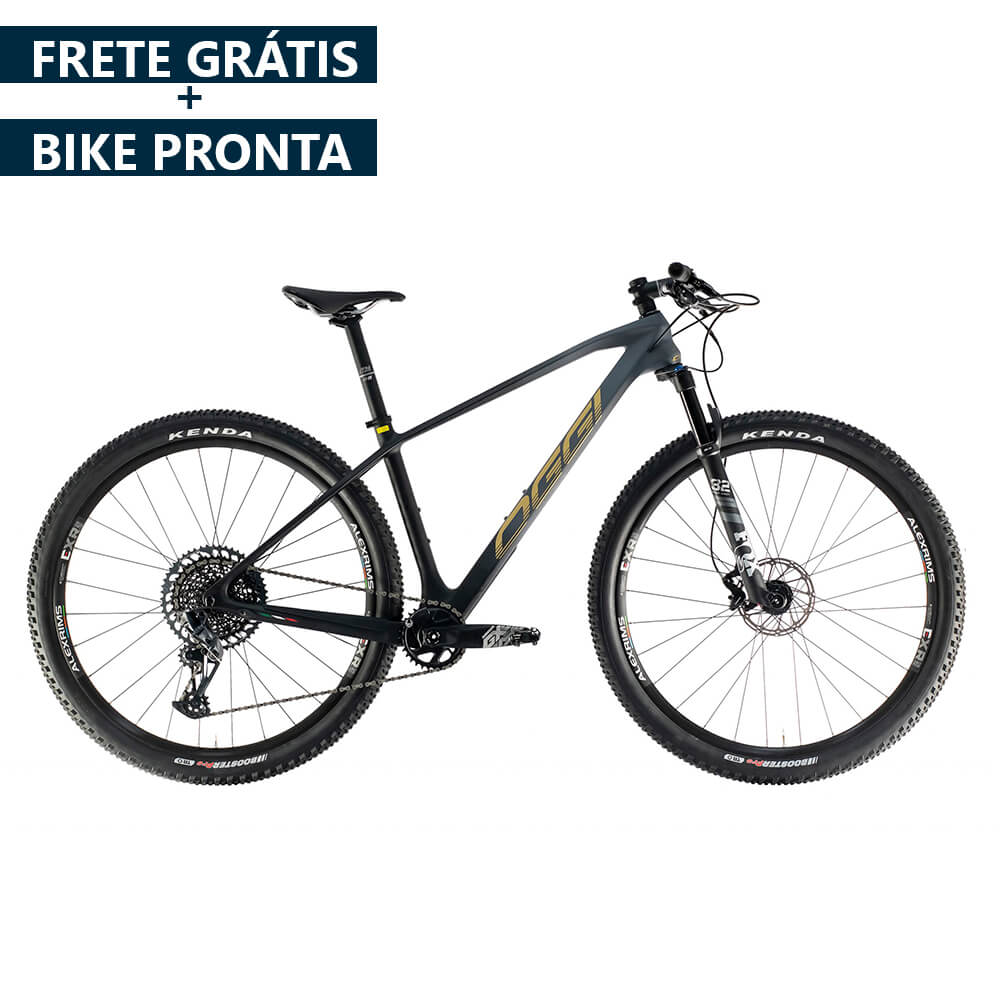 BICICLETA OGGI AGILE PRO GX 12V 2021 - PRETO/ GRAFITE