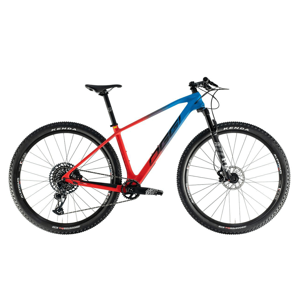 BICICLETA OGGI AGILE PRO GX 12V 2021 - VERMELHO / AZUL