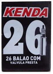 CAMARA KENDA 26x1.90/2.125 BALÃO C/ VALV. PRESTA 48MM - 5025