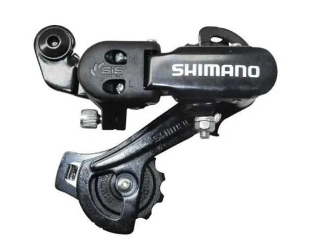 CÂMBIO TRASEIRO SHIMANO TOURNEY RD-TZ31-A GS 6/7V S/GANCHEIRA - 1050390