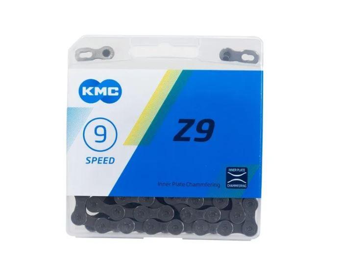 CORRENTE KMC 9V Z9 CINZA 9V  116 ELOS - 51516