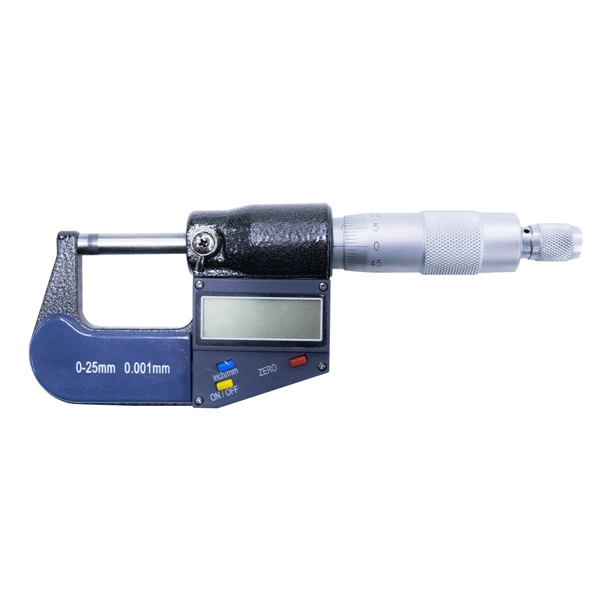 CYCLUS TOOLS - MICRÔMETRO DIGITAL DE PRECISÃO DE 0-25mm - 720353