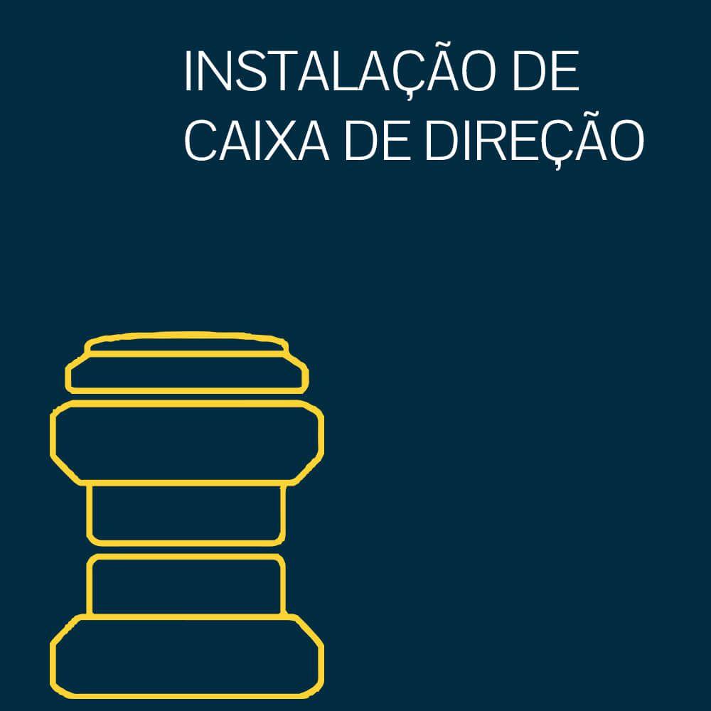 INSTALAÇÃO DE CAIXA DE DIREÇÃO