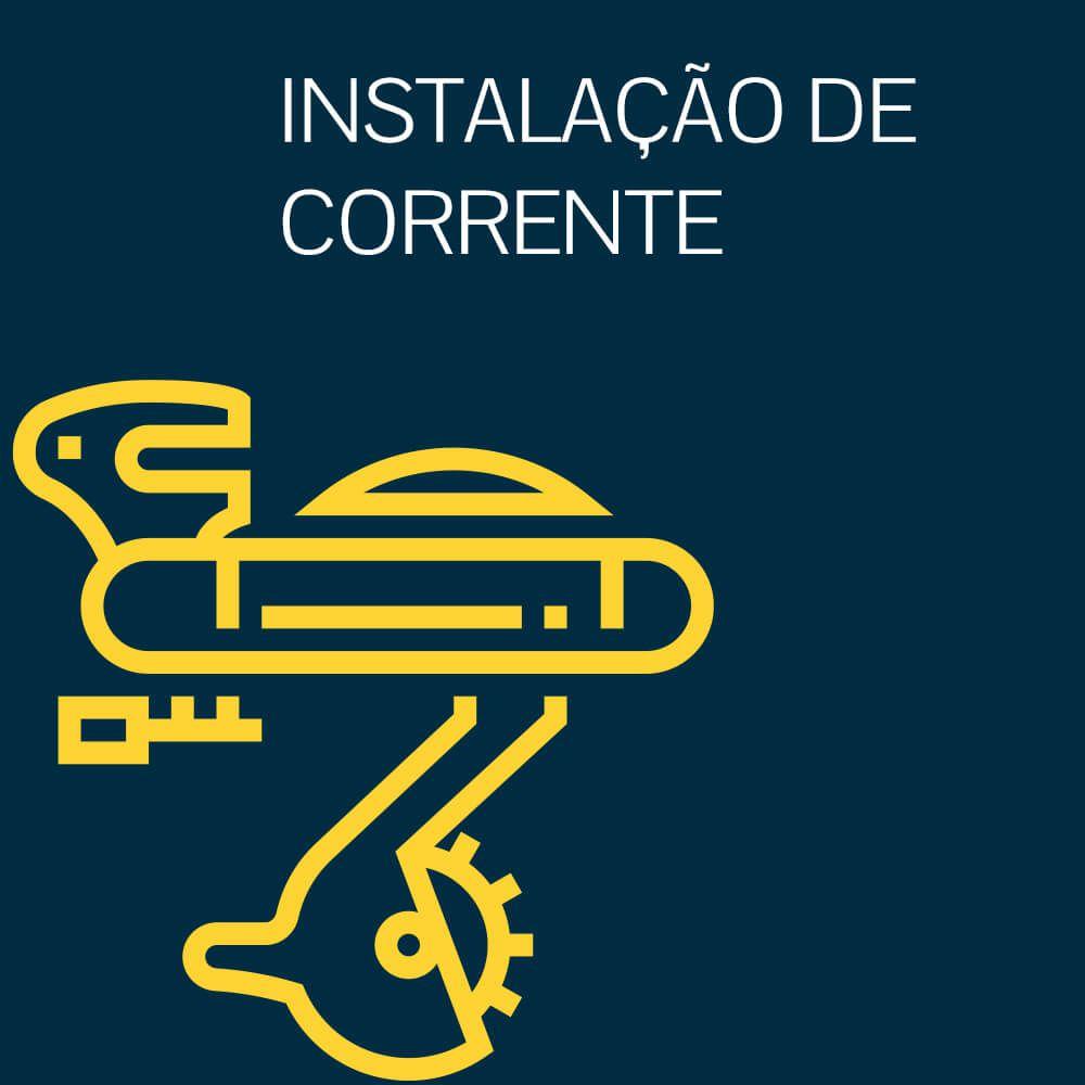 INSTALAÇÃO DE CORRENTE