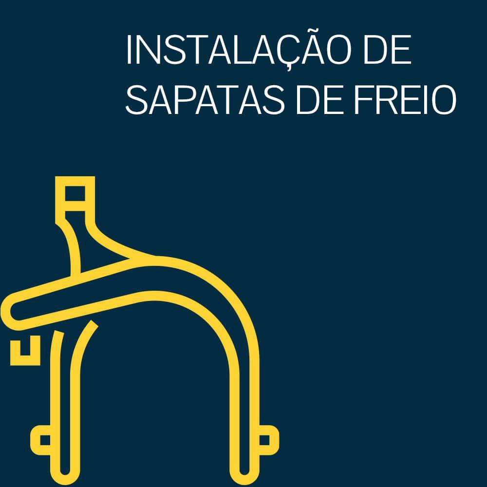 INSTALAÇÃO DE SAPATAS DE FREIO