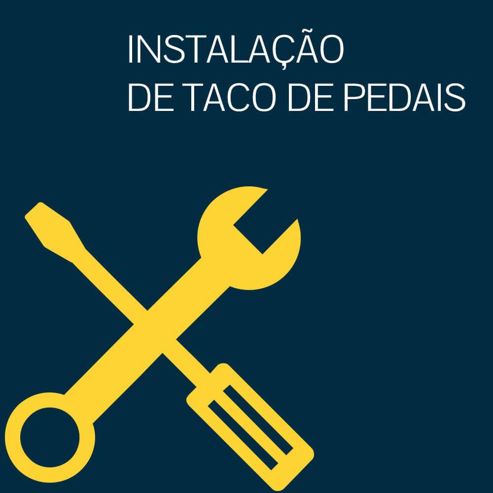 INSTALAÇÃO DE TACO DE PEDAIS