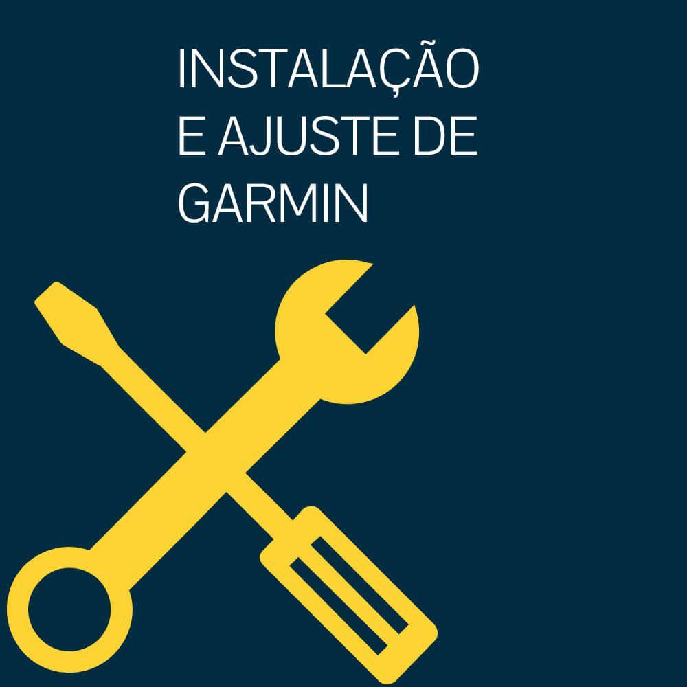 INSTALAÇÃO E AJUSTE DE GARMIN EDGE