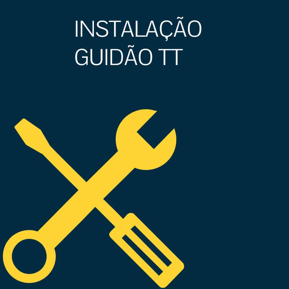 INSTALAÇÃO GUIDÃO TT