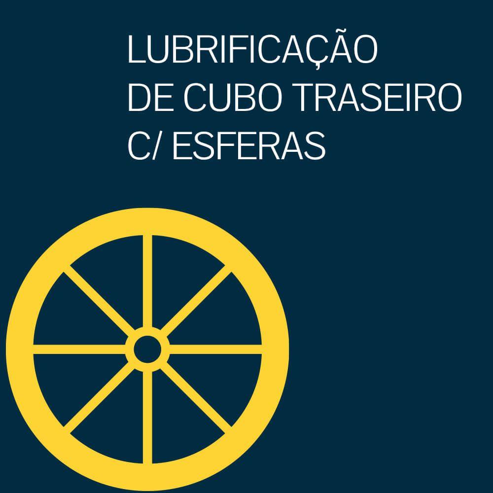 LUBRIFICAÇÃO DE CUBO TRASEIRO COM ESFERAS