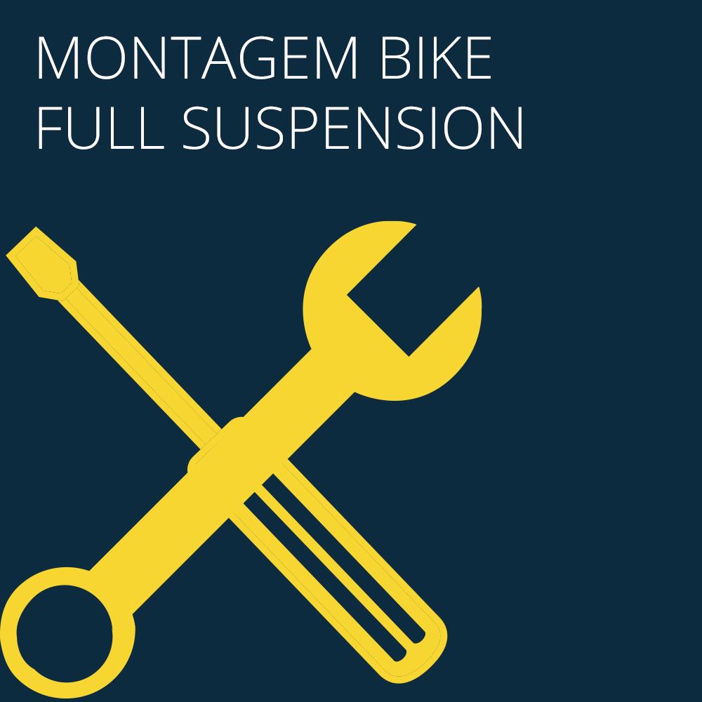 MONTAGEM BIKE MTB/FULL SUSPENSION