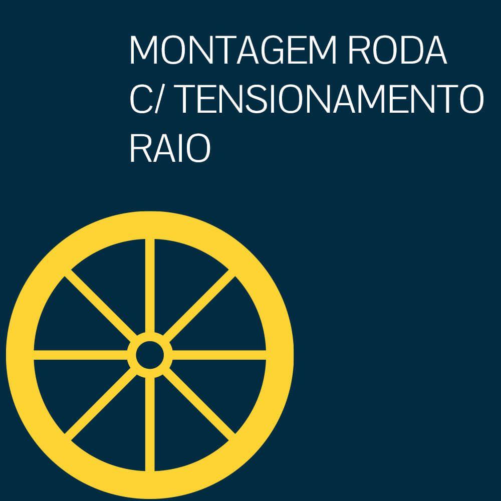 ALINHAMENTO DE RODA C/TENSIONAMENTO RAIO