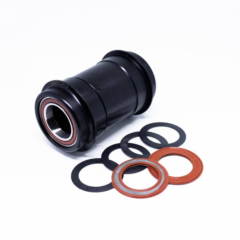 MOVIMENTO CENTRAL ENDURO PF30 AC ABEC5 ROAD/MTB - BLACK - 24mm - BK-6008