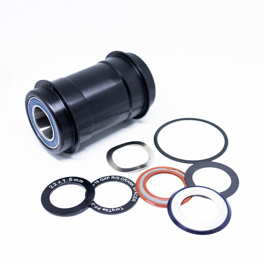MOVIMENTO CENTRAL ENDURO PF30 AC ABEC5 ROAD/MTB - BLACK - GXP - BK-6006